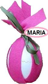 uova segnaposto per Pasqua