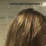 Riflessante per capelli castani