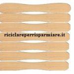Portagioie con aste di legno