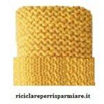 Cappello per riciclare un pullover