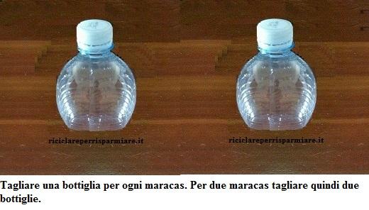 Bricolage Con Bottiglie Di Plastica.Come Riciclare Plastica Maracas Di Plastica Riciclare