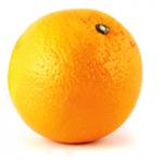 Coppette con bucce dell'arancia