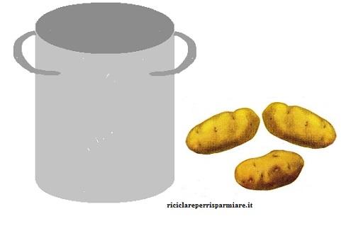 Acqua delle patate
