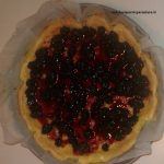 Cheesecake con more glassate