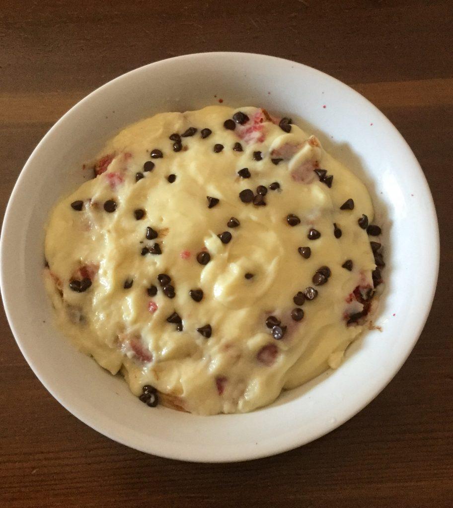 Plumcake semifreddo