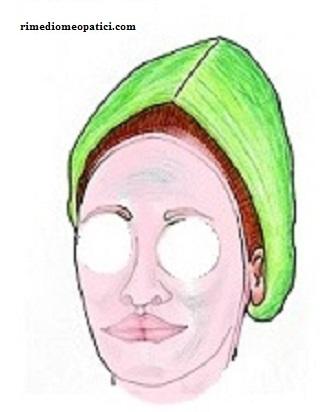 Maschera con more