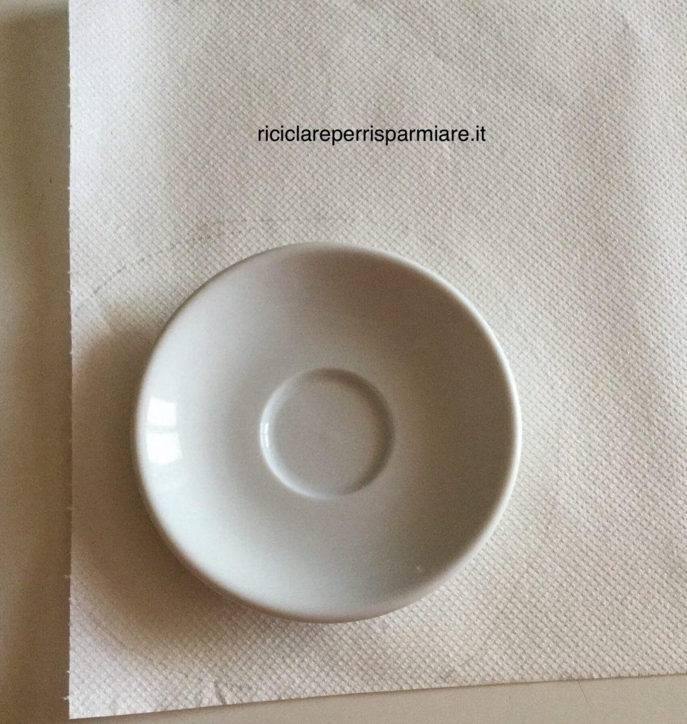Come Riciclare Piattini Caffe Piattini Ricicla Porcellana