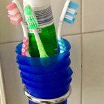 Portaspazzolino ♻️ con dosatori dash