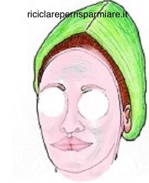 Maschera con polpa bianca d'Anguria 🍉