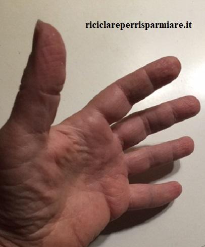 Se sudano le mani