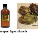 Olio con foglie di carciofi 😲