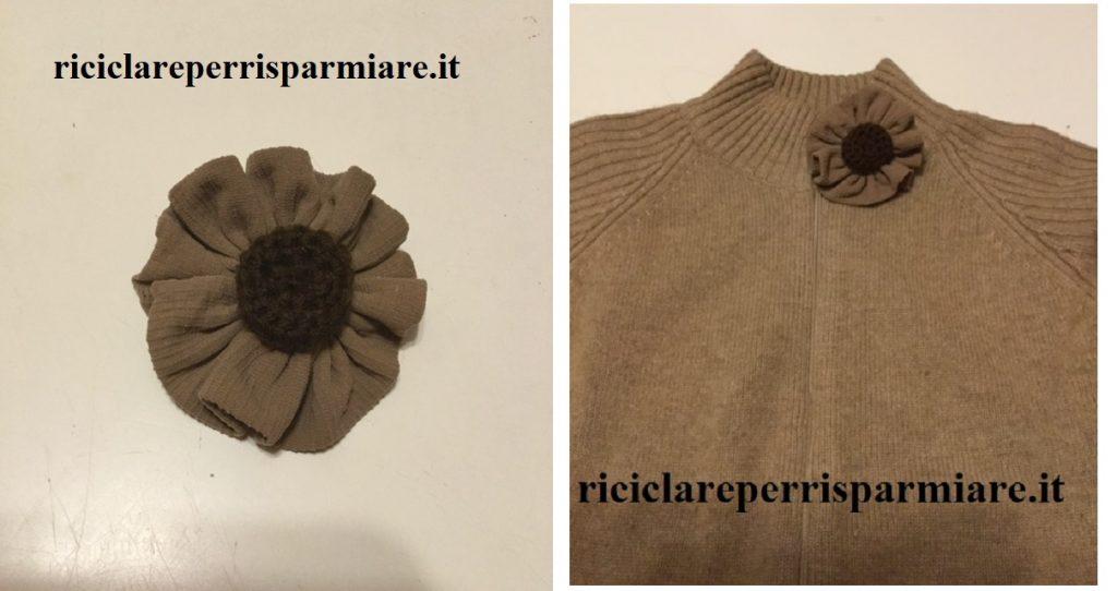 Fiore per maglie